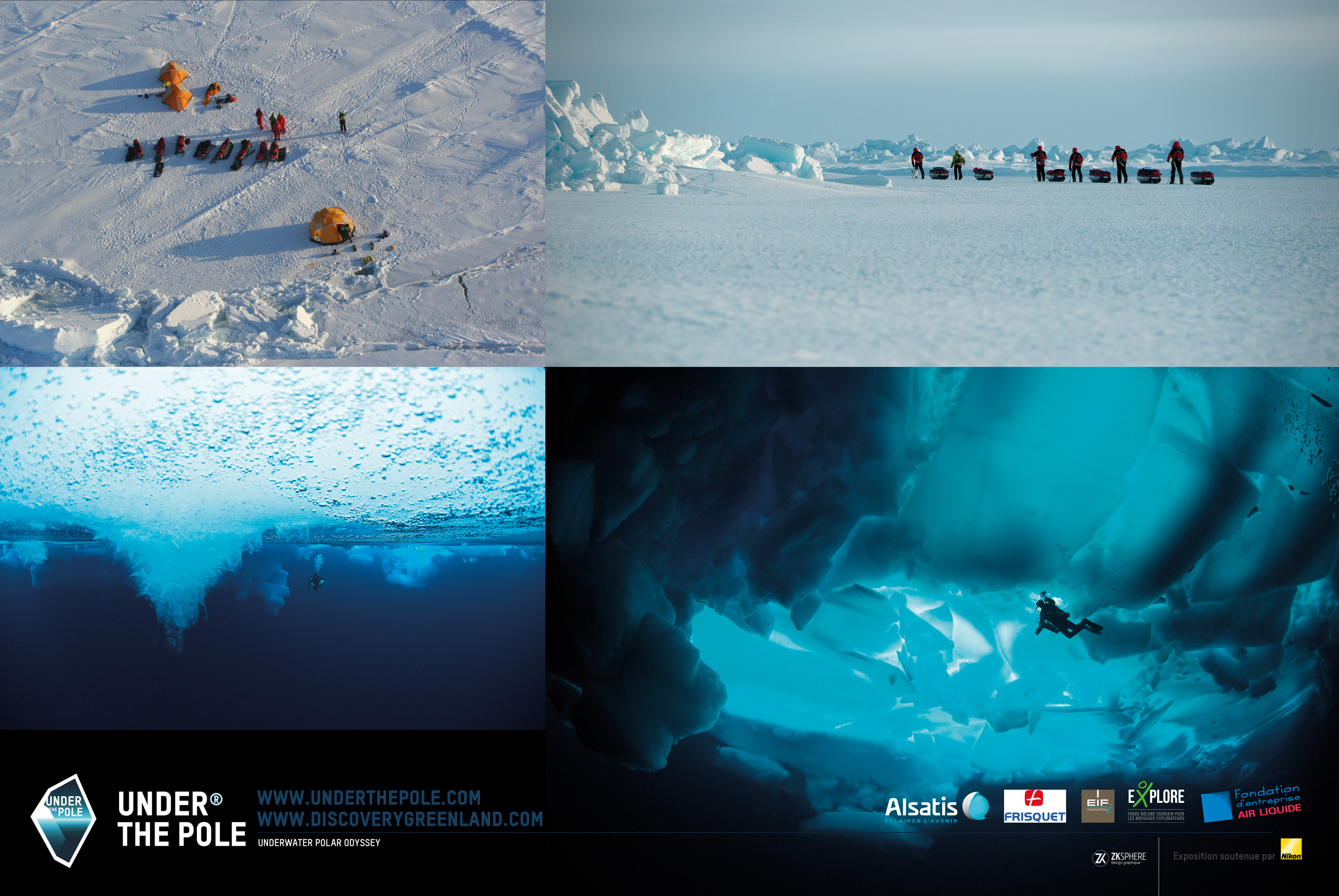 Exposition Under The Pole 2 - Discovery Greenland